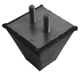 ANTIVIBRATION FEET WITH A SQUARE BASE – SERIE PQ