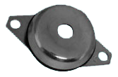 BELL ANTIVIBRATION MNTGS – With passer-by hole