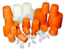 Truncated-cone-shaped caps
